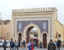 Morocco city gates
