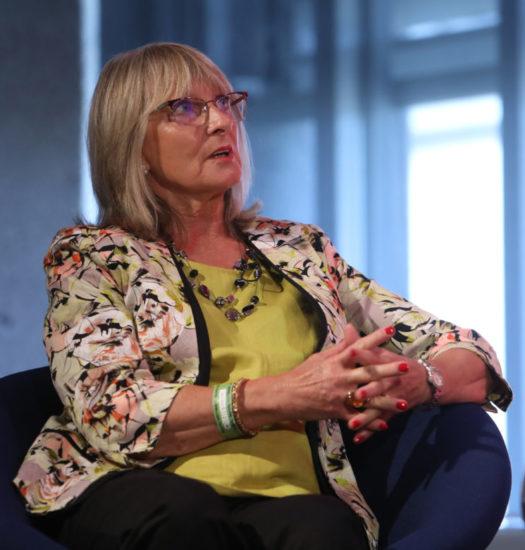 Angela Kalisch speaking at TTG conference